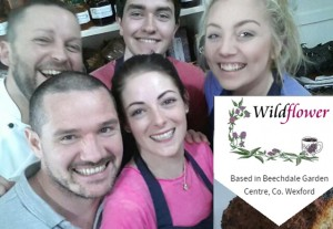 the wildflower cafe team