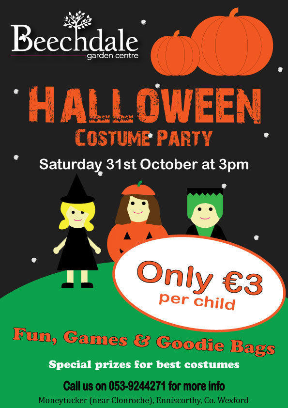 Kids Halloween fancy dress Costume Parties Wexford