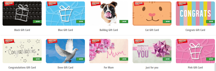 One 4 All Gift Cards Wexford