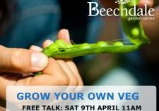 how to grow veg free gardening class at Beechdale Garden Centre Wexford
