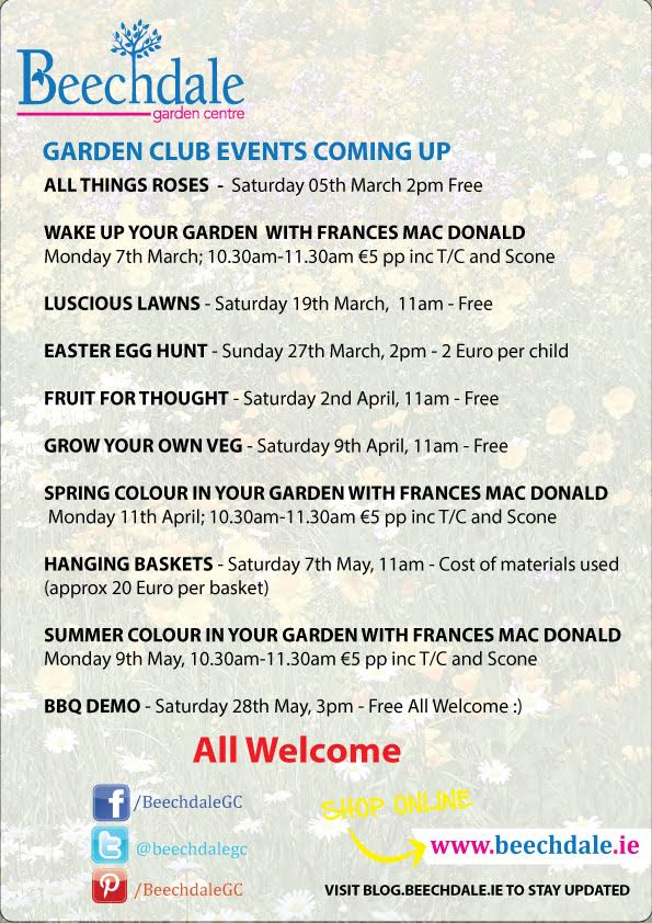 Gardening Talks in Wexford 2016